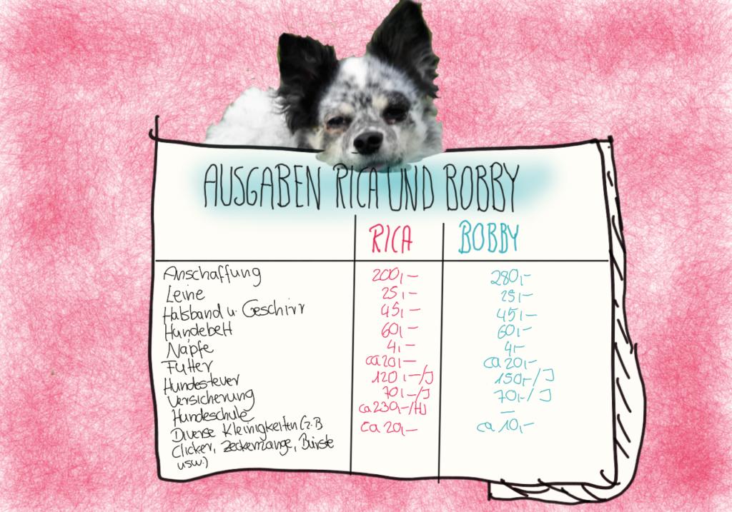 Kosten für meine Hunde