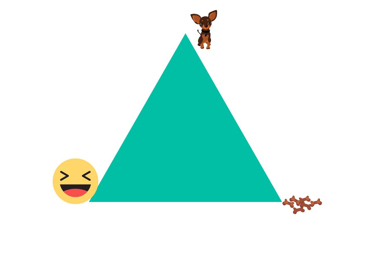 Dreiecksübung